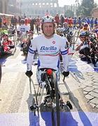 Alez Zanardi alla partenza della gara su handbike (Jpeg)