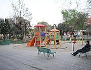 L'area giochi di via Battistini (Jpeg)