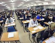 Studenti in aula per i test di ammissione a Medicina e Odontoiatria (Jpeg)