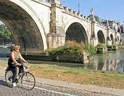 Una ciclabile sul Tevere:  nuove piste saranno create anche sopra i muraglioni