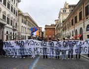 Proteste contro la vendita della Virtus (Omniroma)