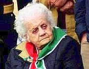 Giovanna Marturano, 100 anni dallo scorso 27 marzo (foto dal web)