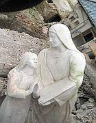 Un'immagine del terremoto dell'Aquila del 6 aprile 2009