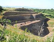 Lo scavo per la nuova discarica di Corcolle (Proto)