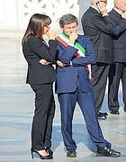 Gianni Alemanno e Renata Polverini (Jpeg)