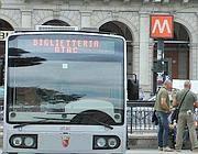 Una biglietteria mobile dell'Atac (Cucinotta)