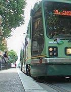 Un tram a Roma