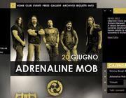 La homepage del sito dell'Orion di Ciampino