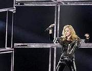 Madonna in uno dei balletti all'Olimpico