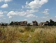 I ruderi di un casale nell'Agro Romano del VI Municipio (Murè)