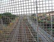 Porta Furba: i binari destinati al raddoppio (foto da MySpace)