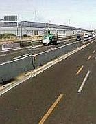 Un rendering di come dovrebbe apparire l'autostrada Roma-Latina accanto alla Ss. Pontina