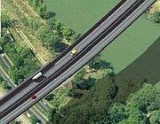 Il contestato viadotto A12-Tor de' Cenci nel progetto al computer