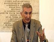Il sovrintendente Umberto Broccoli