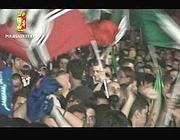 L'arrestato in un fermo immagine di un video della Polizia (Proto)