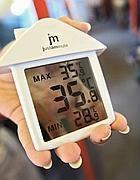 Il termometro di Corriere.it sulla Roma-Lido: 35,8 gradi (foto Jpeg)