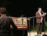 Baliani sul palco del festival letterario