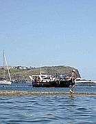 L'isola di Santo Stefano vista da Ventotene