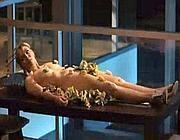 Samantha nella famosa scena di Sex & The City