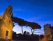 Una veduta dell'Appia Antica