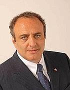 Il presidente della Provincia, Antonello Iannarilli