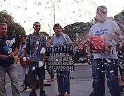 Lavoratori contestano la ristrutturazione di Cinecittà (Jpeg)