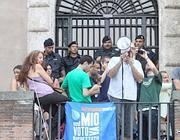 Protesta dei Comitati dell'Acqua in Campidoglio (Jpeg)