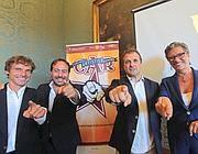Gli organizzatori del Censimento artistico romano