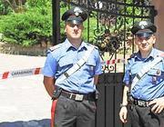 I due carabinieri della compagnia Cassia che hanno salvato la colf (Proto)