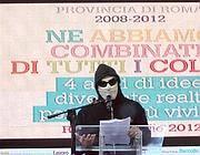 Johnny Palomba sul palco (Jpeg)