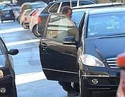 Samuele Piccolo lascia il tribunale dopo l'interrogatorio (Jpeg)