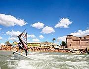 La spiaggia di Santa Severa