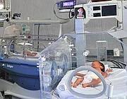 Piccoli ricoverati in Neonatologia al San Giovanni (foto Ansa)