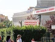 L'ingresso dell'ospedale S.Giovanni (foto Jpeg)