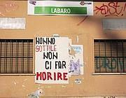 Un poster fai-da-te al Labaro