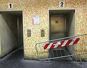 Ascensori bloccati nella metr� di piazza di Spagna (Jpeg)