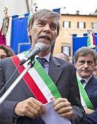 Il presidente dell'Anci, Graziano Delrio (Ansa)