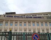 La facciata dell'ospedale San Giovanni (Ansa)