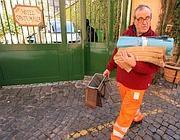 Raccolta porta a porta a Trastevere (foto Jpeg)