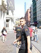 Aleandro Rosi a Manhattan (Ansa)