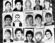 Foto segnaletiche della «banda della Magliana»