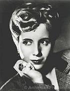 Eva Peron Duarte in una foto del '40