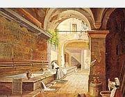 L'acquedotto dell'Acqua Vergine in un dipinto dell'800 a Museo di Roma in Trastevere