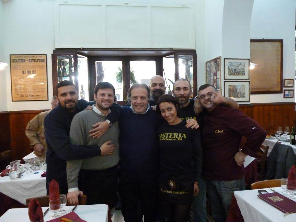 Con Enrico Montesano