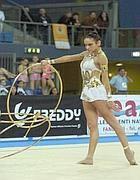 Elisa Santoni in gara