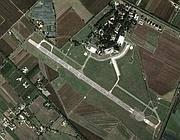 Un'immagine del «Comani» dal satellite