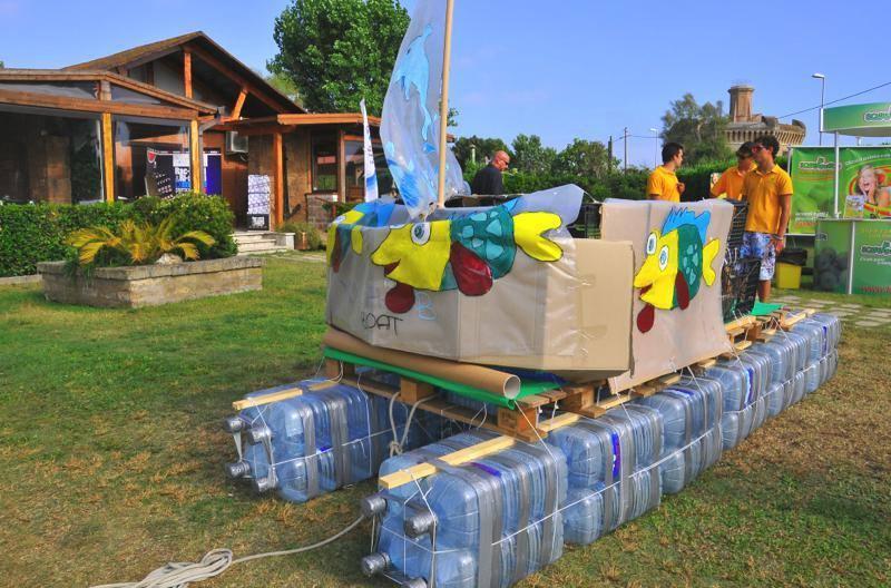 Barche dai materiali riciclati se la regata diventa - Costruire casa da soli ...
