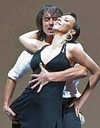 Milena Plebs con David Alejandro Palo