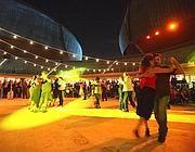 La Cavea dell'Auditorium dove ogni sera si tiene milonga gratuita