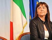 La presidente della Regione Lazio Renata Polverini (Imago)